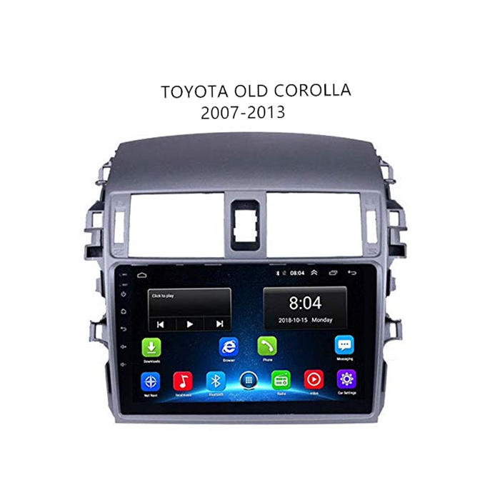 Toyota 2003-2013 Corolla Android Navigation