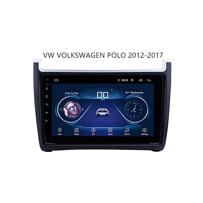 VW 2012-2017 Polo Android Auto Car Stereo