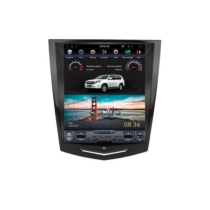 Cadillac ATS/XTS/SRX/CTS Tesla Style Android Touch Screen