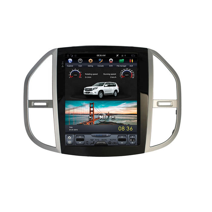 Benz Vito Tesla Style Android Car Music System