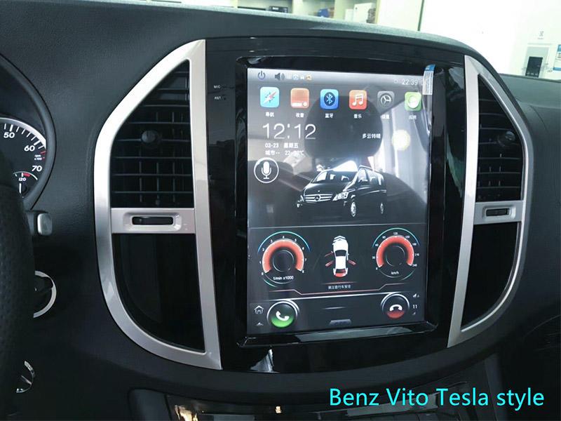 Tesla Style Benz Vito