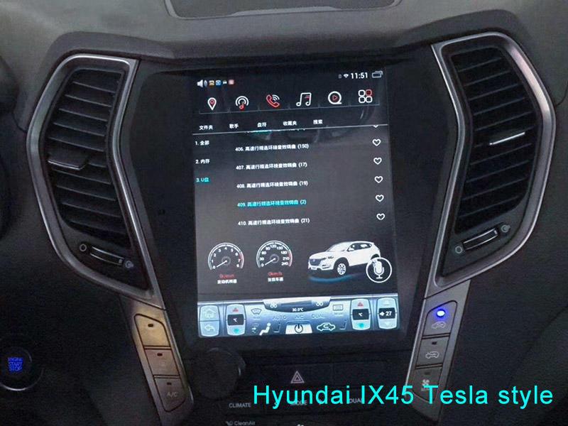 Tesla Style Hyundai IX45