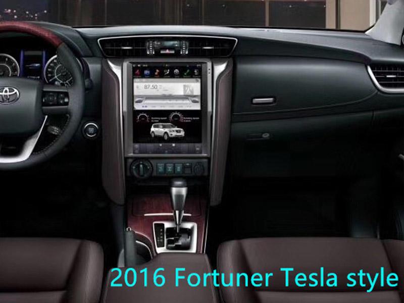 Tesla Style Toyota 2016 Fortuner