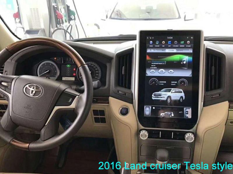Tesla Style Toyota 2016 Land Cruiser
