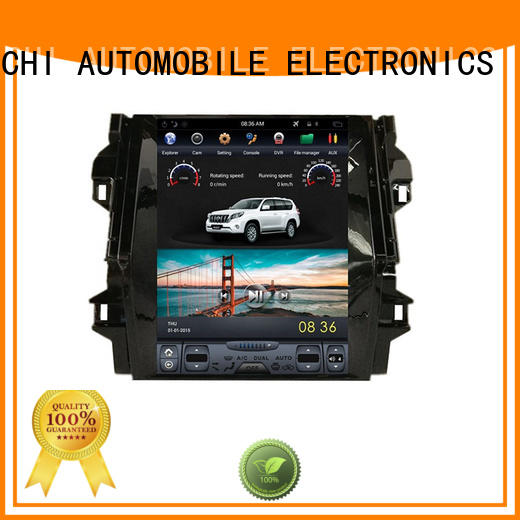 YiChi tesla style touch screen for business