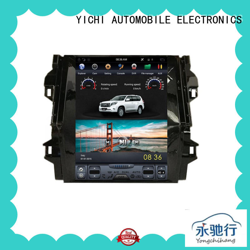 High-quality touch screen car stereo with navigation for business