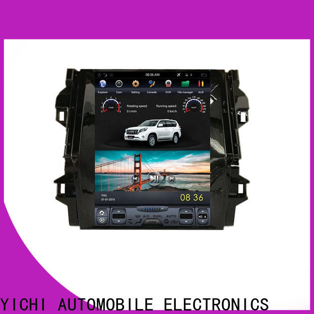 YiChi oem odm touch screen car stereo with navigation factory for wholesale