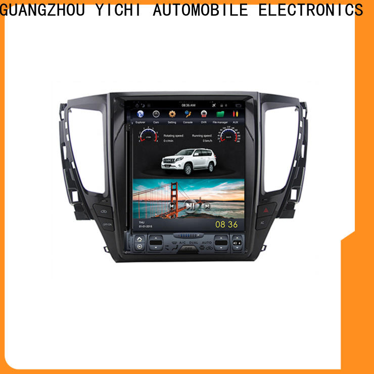 professional touch screen car stereo with navigation factory for car company